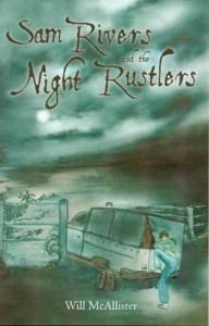 Sam rivers and the NIght Rustlers in Author's Blogging